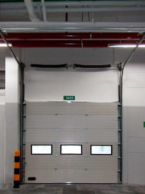 6 Overhead Sectional Door