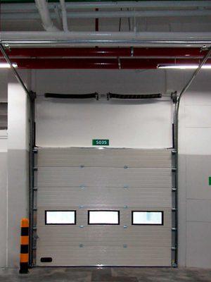 6 Overhead Sectional Door