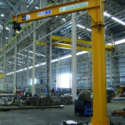 9 Pillar Jib Crane