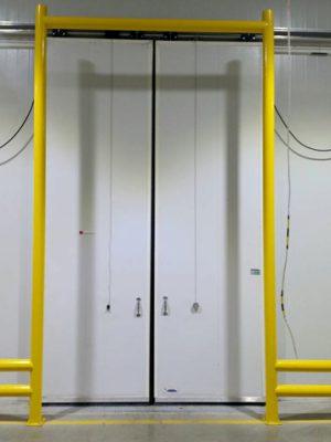 ประตูห้องเย็นแบบสไลค์ข้าง