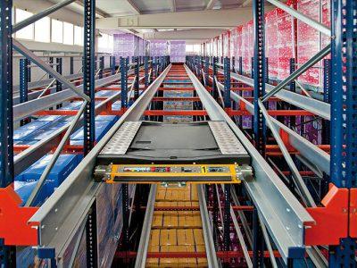 ALLA Racking series Shuttle rack