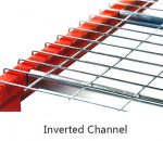 Racking Accessories Wire Mesh Decking inverted channel