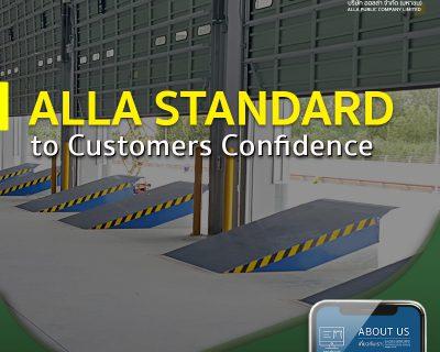 ALLA Standard to Customers Confidence